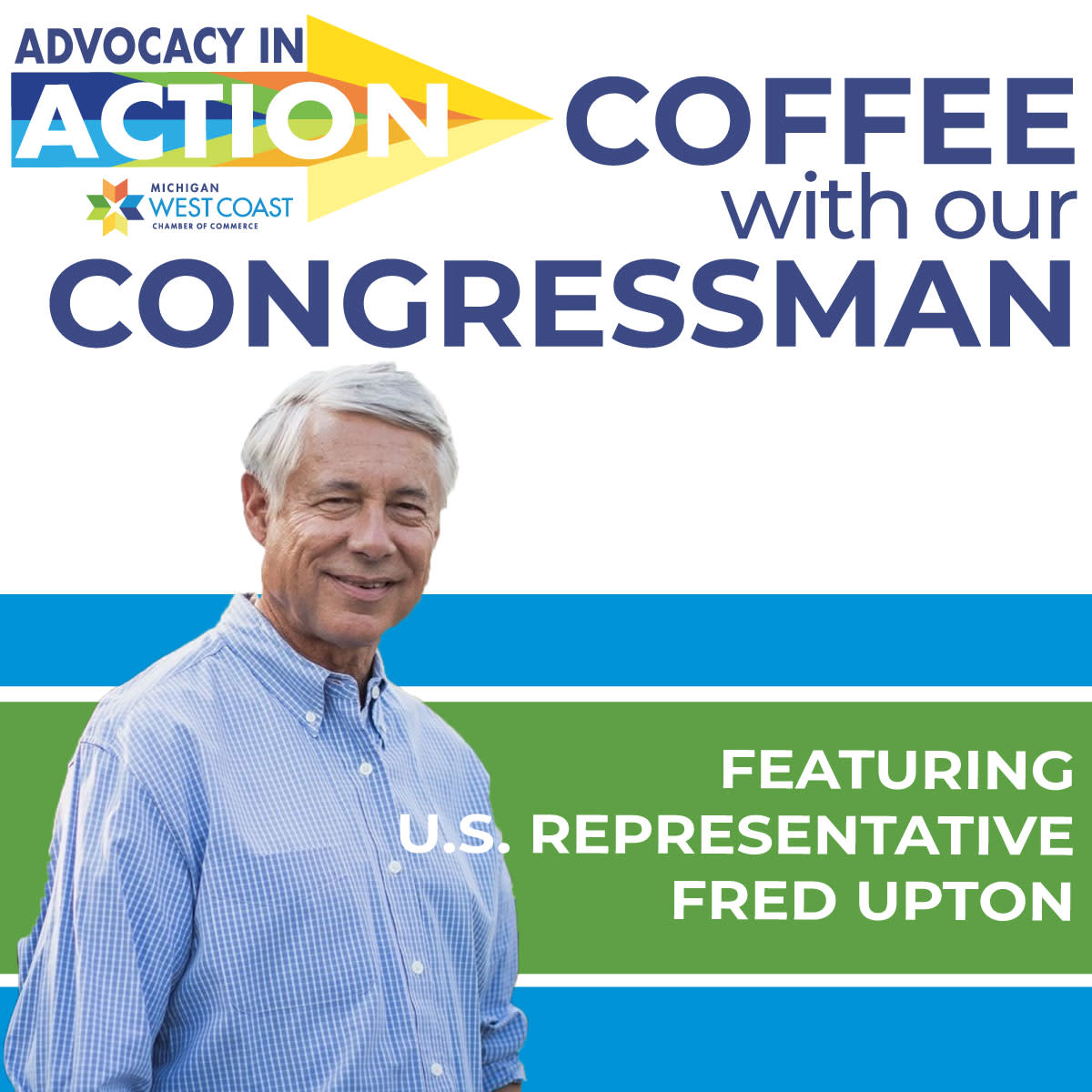 Coffee with our Congressman Upton Logo