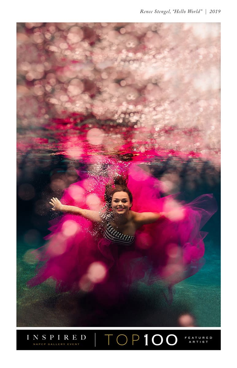 NAPCP INSPIRED Top 100 Featured Artist North Carolina Underwater Photographer