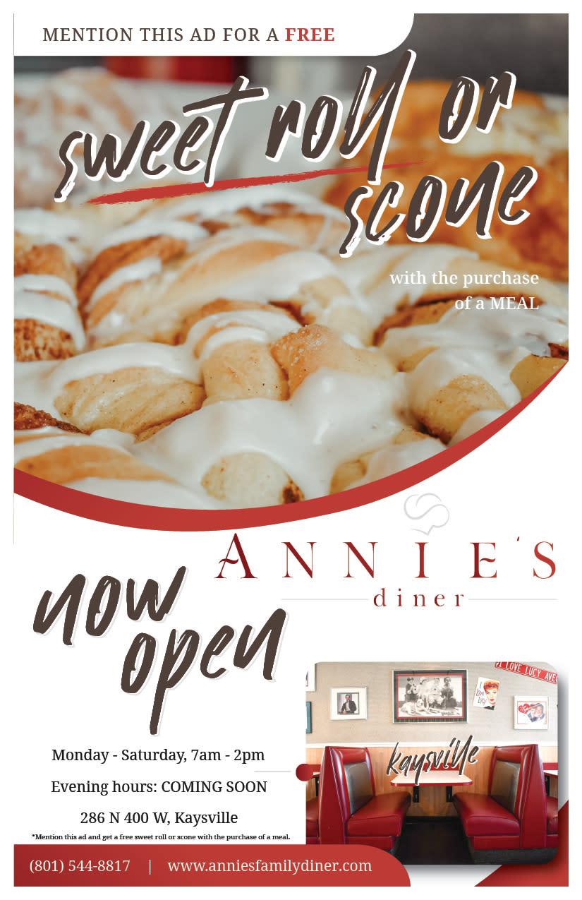 Annie's Diner   Kaysville Cars Ad