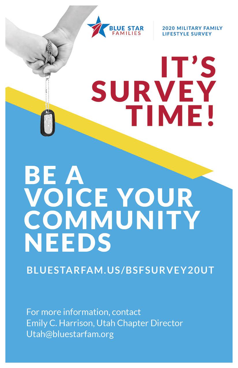Blue Star Families of Utah | Kaysville Cares Ad