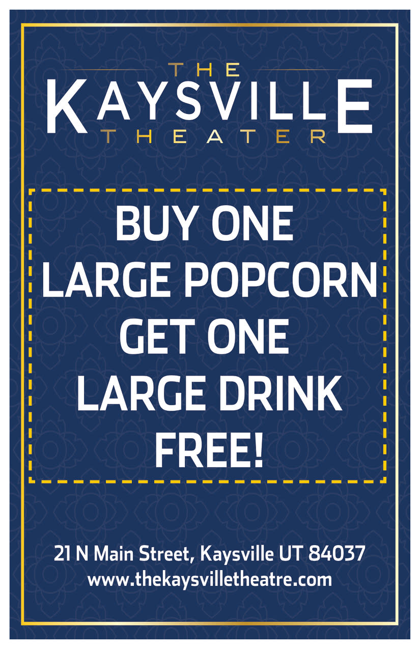 The Kaysville Theater   Kaysville Cares Ad