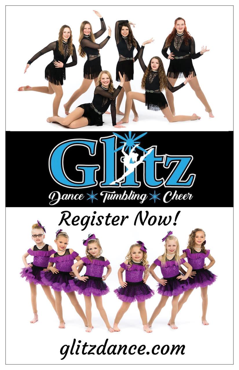 Glitz Dance Studio   Kaysville Cares Ad