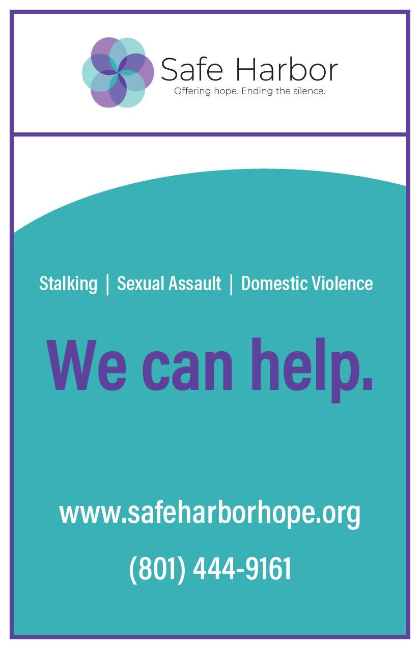 Safe Harbor Crisis Center   Kaysville Cares Ad
