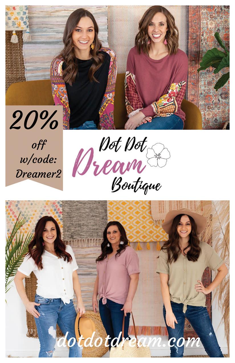 Dot Dot Dream Boutique | Kaysville Cares Ad