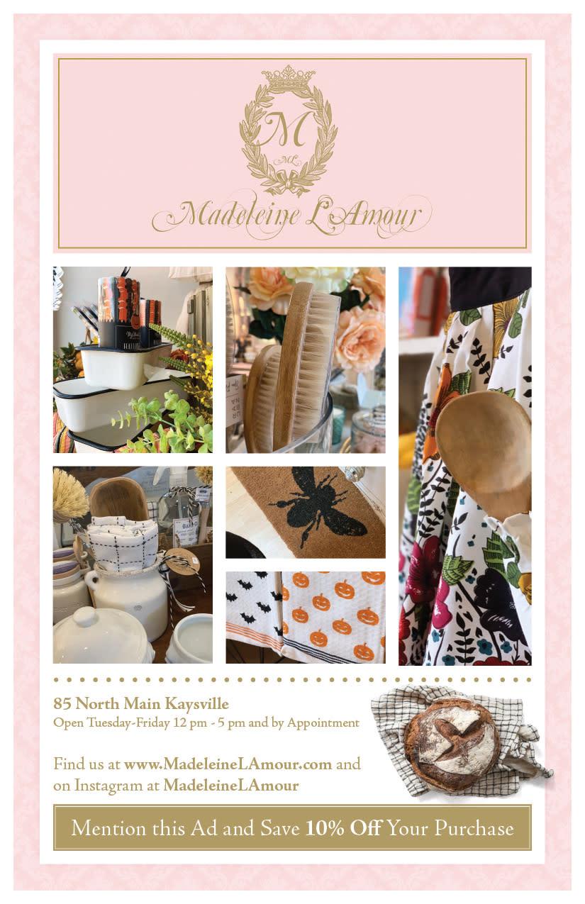 Madeleine L'Amour | Kaysville Cares Ad