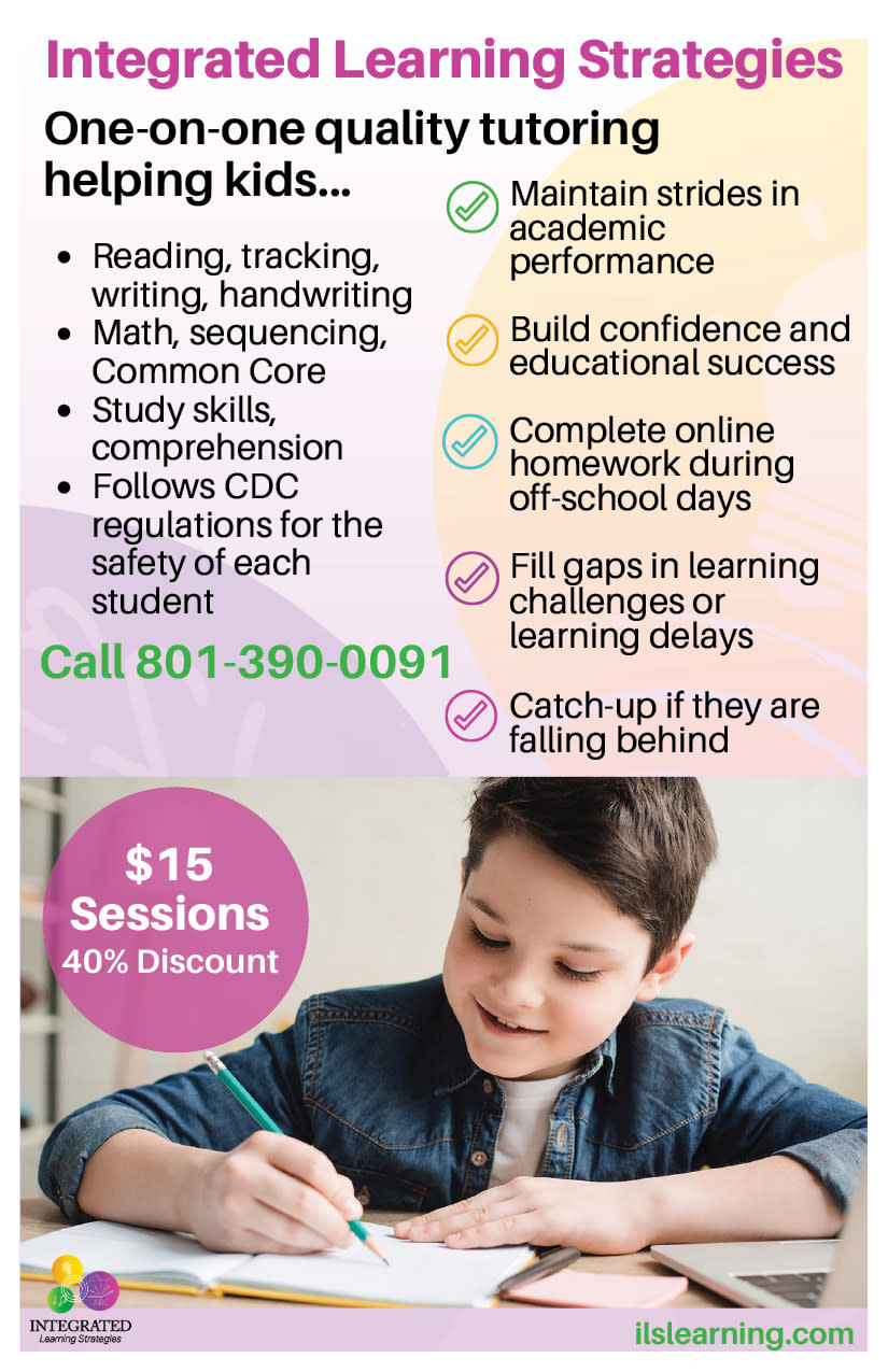 Integrated Learning Strategies | Kaysville Cares Ad