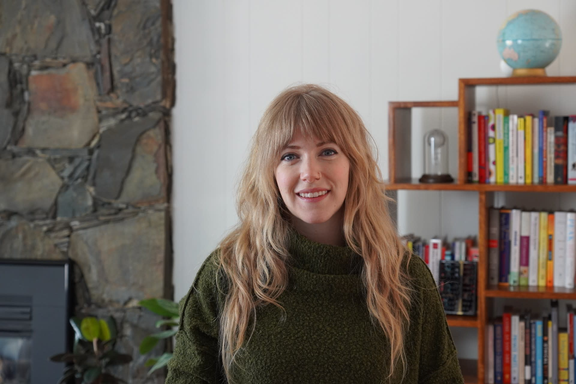 Portrait of Ceara Crawshaw, CEO of Pencil & Paper