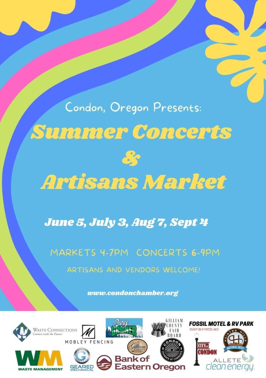 Summer Concert & Artisans Market