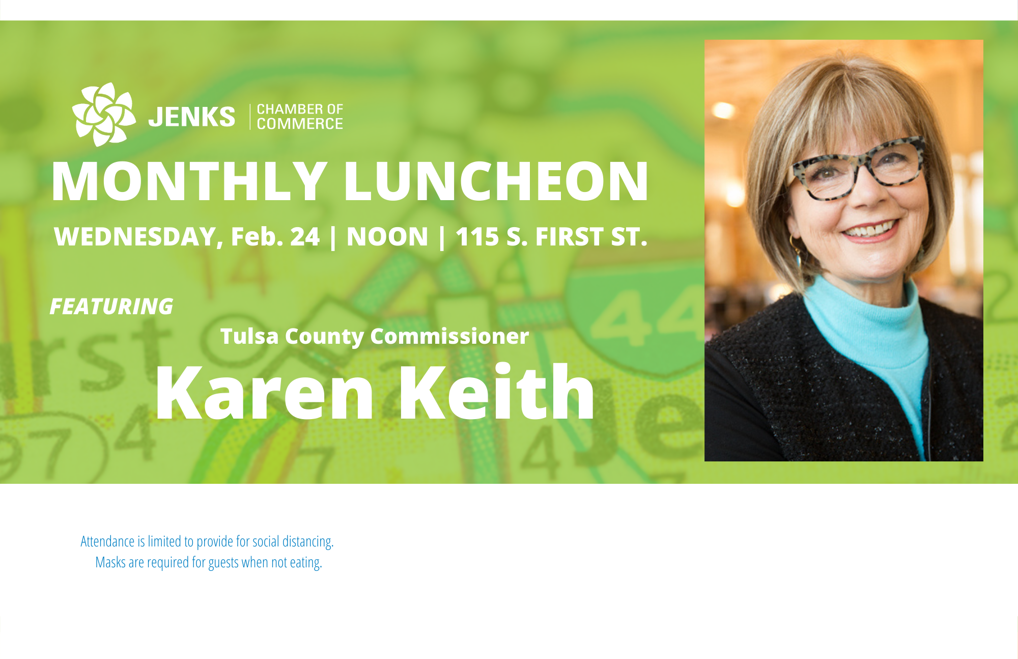 Karen Keith to speak at Feb. Luncheon