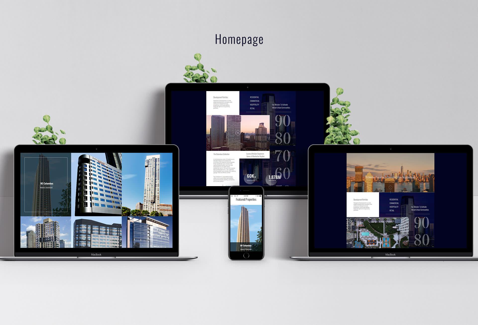 Panepinto Development branding and website