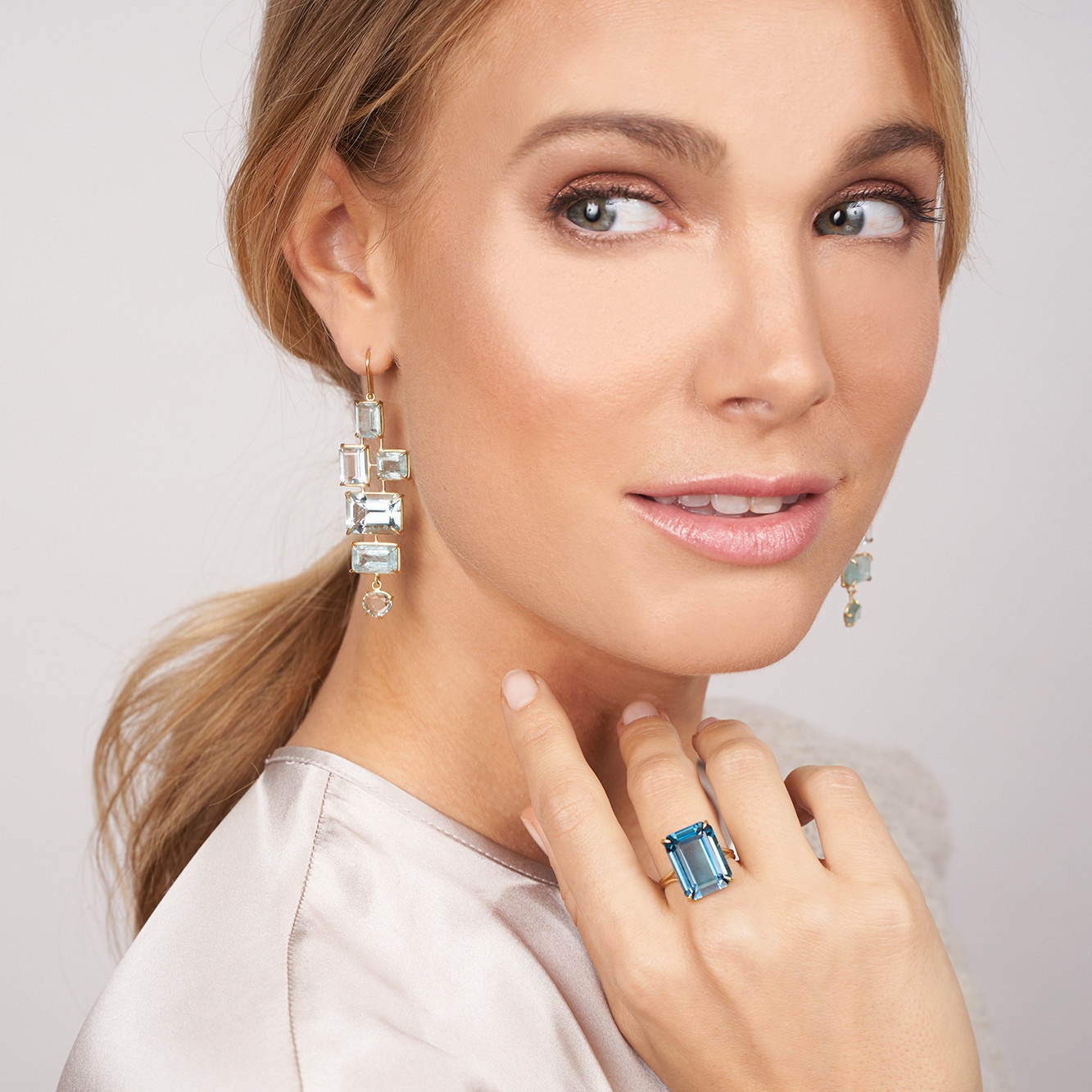 Rosanne Pugliese Ring and Earrings