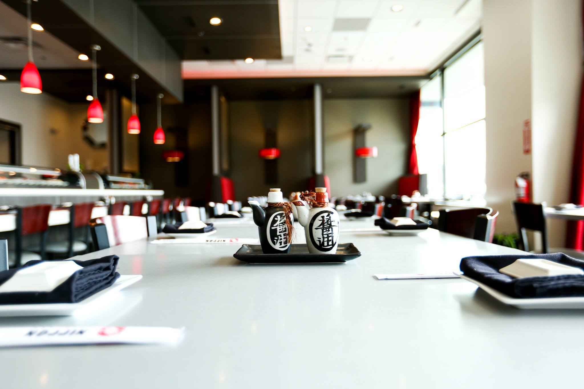 Nippon Sushi Bar - Southfield is open from 11am - 3pm and 5pm - 9pm on weekdays, 2pm -10pm on Saturdays, and closed on Sundays.
