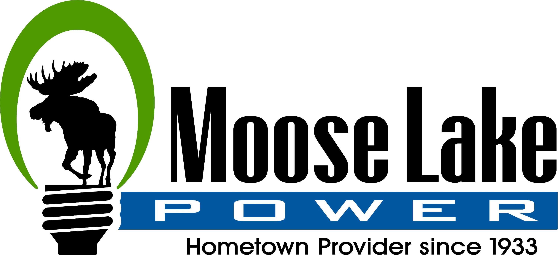 moose lake power logo