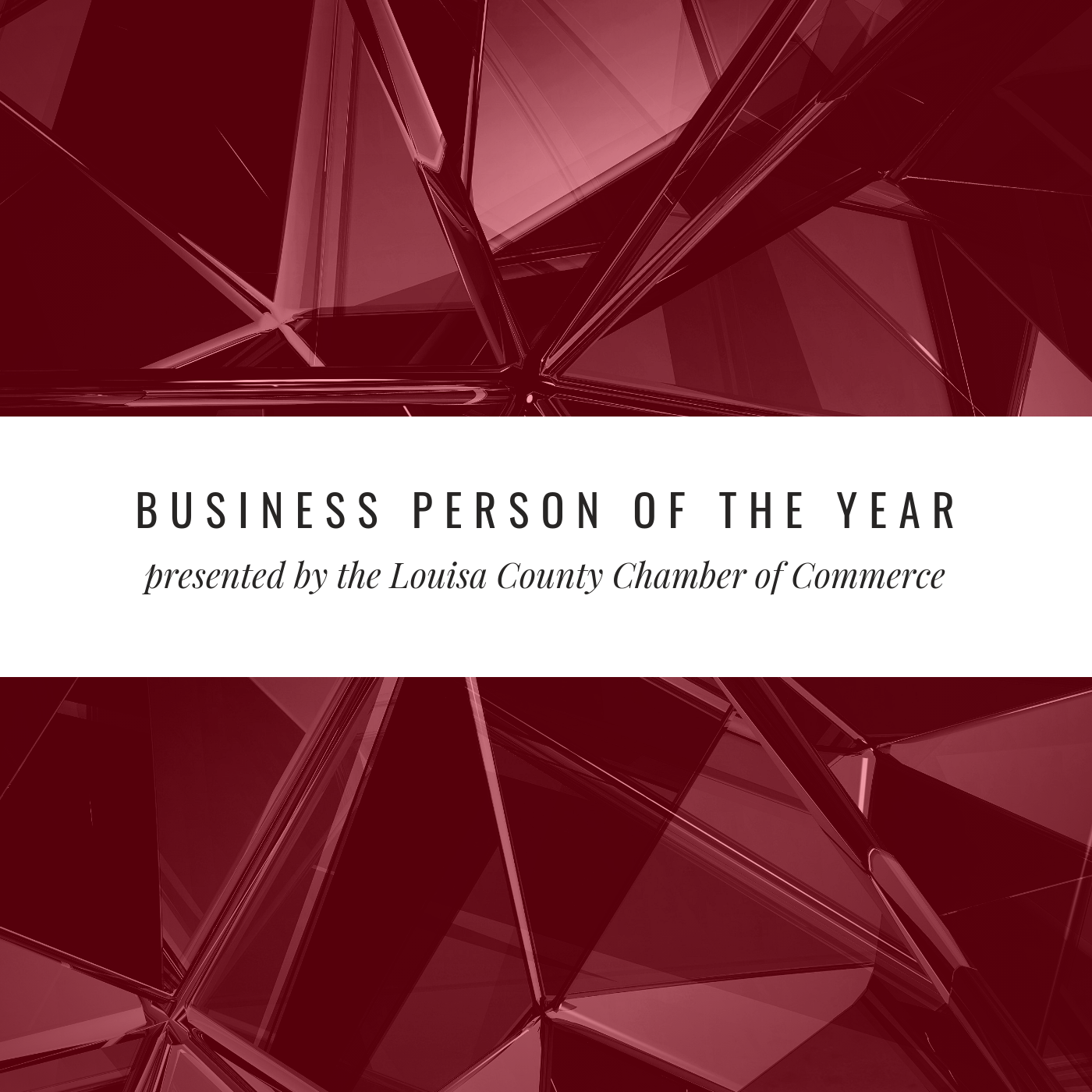 Business Person of the Year Awards Banquet