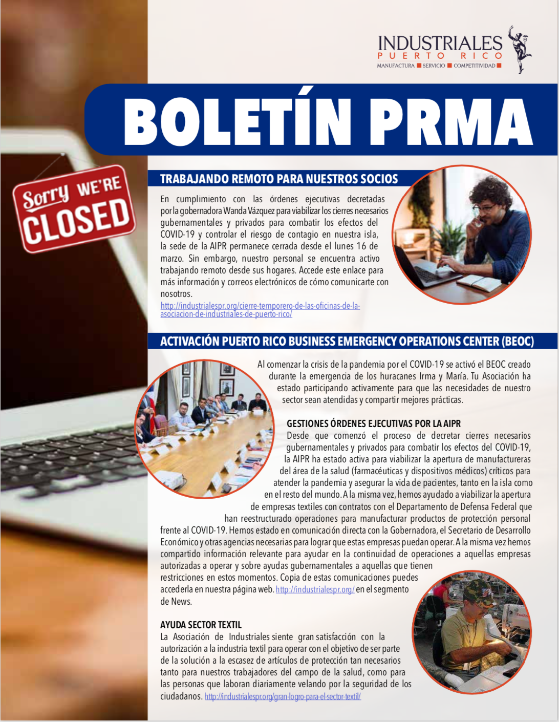 Cover of the PRMA Bulletin March 2020
