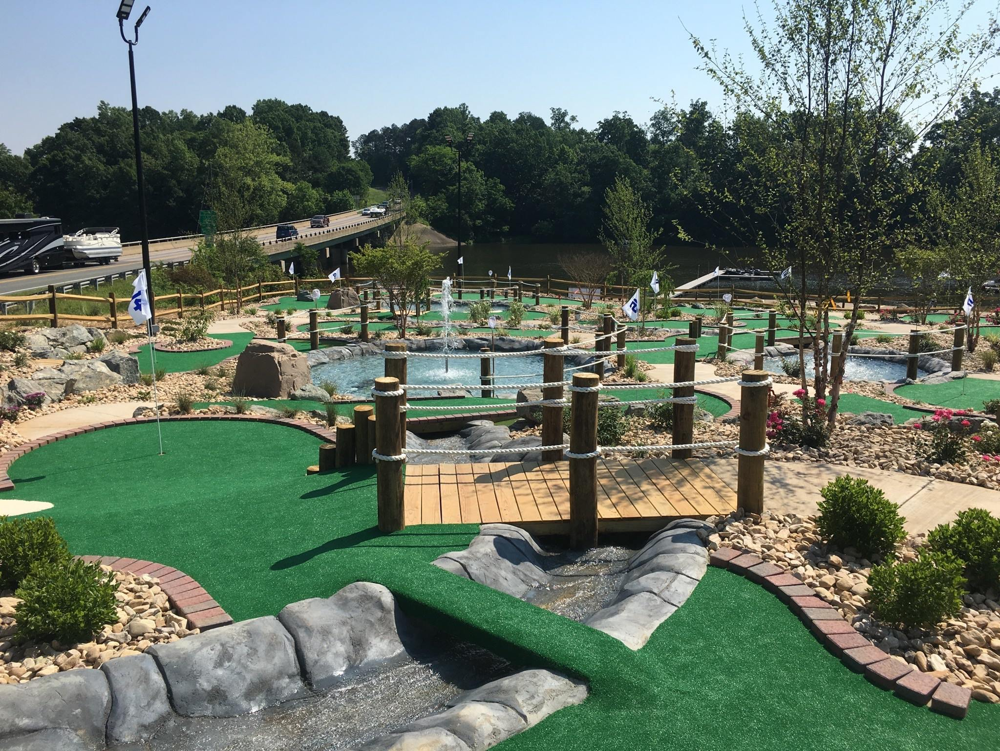 Boardwalk Miniature Golf
