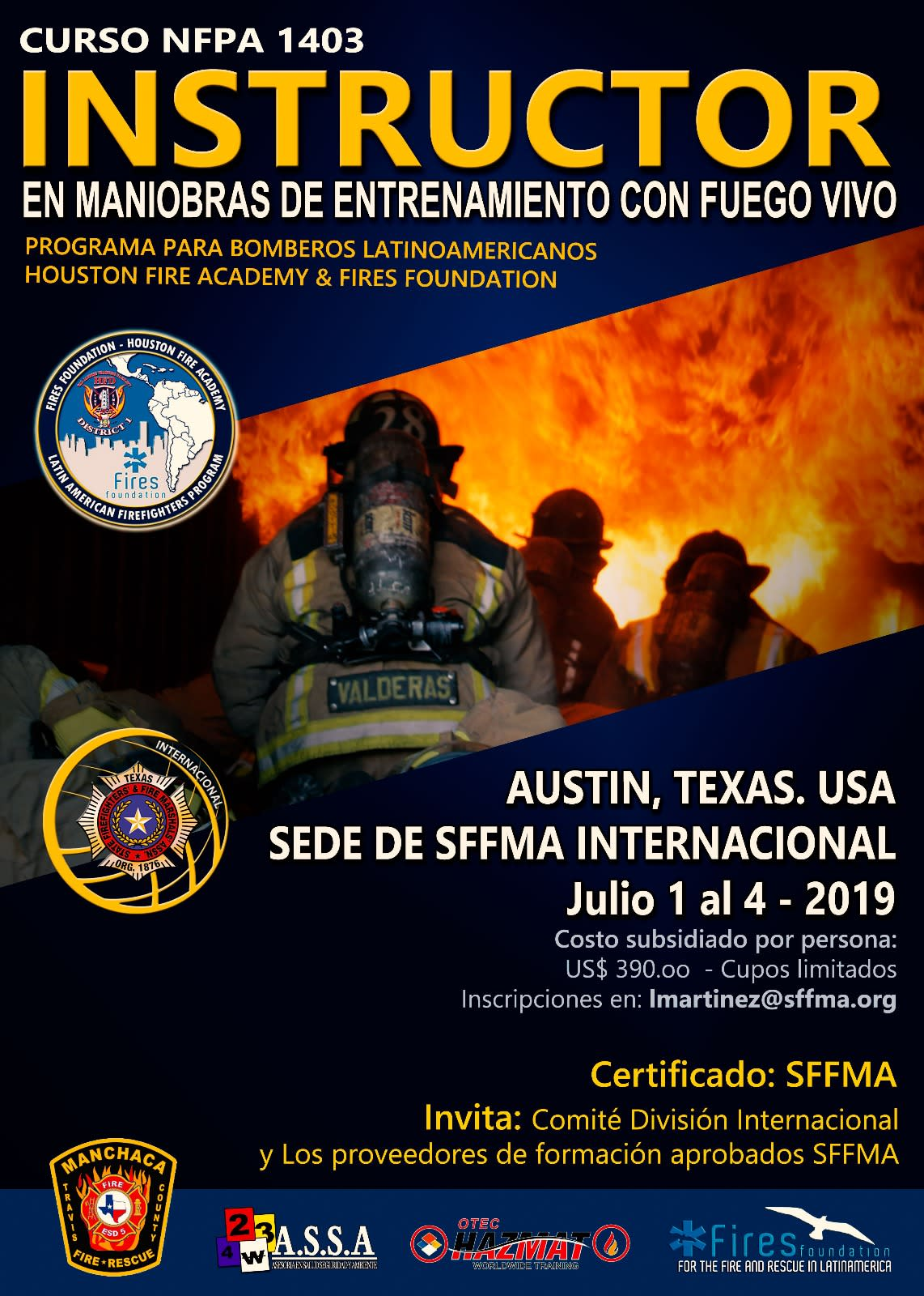 State Firefighters' & Fire Marshals' Association of Texas | SFFMA