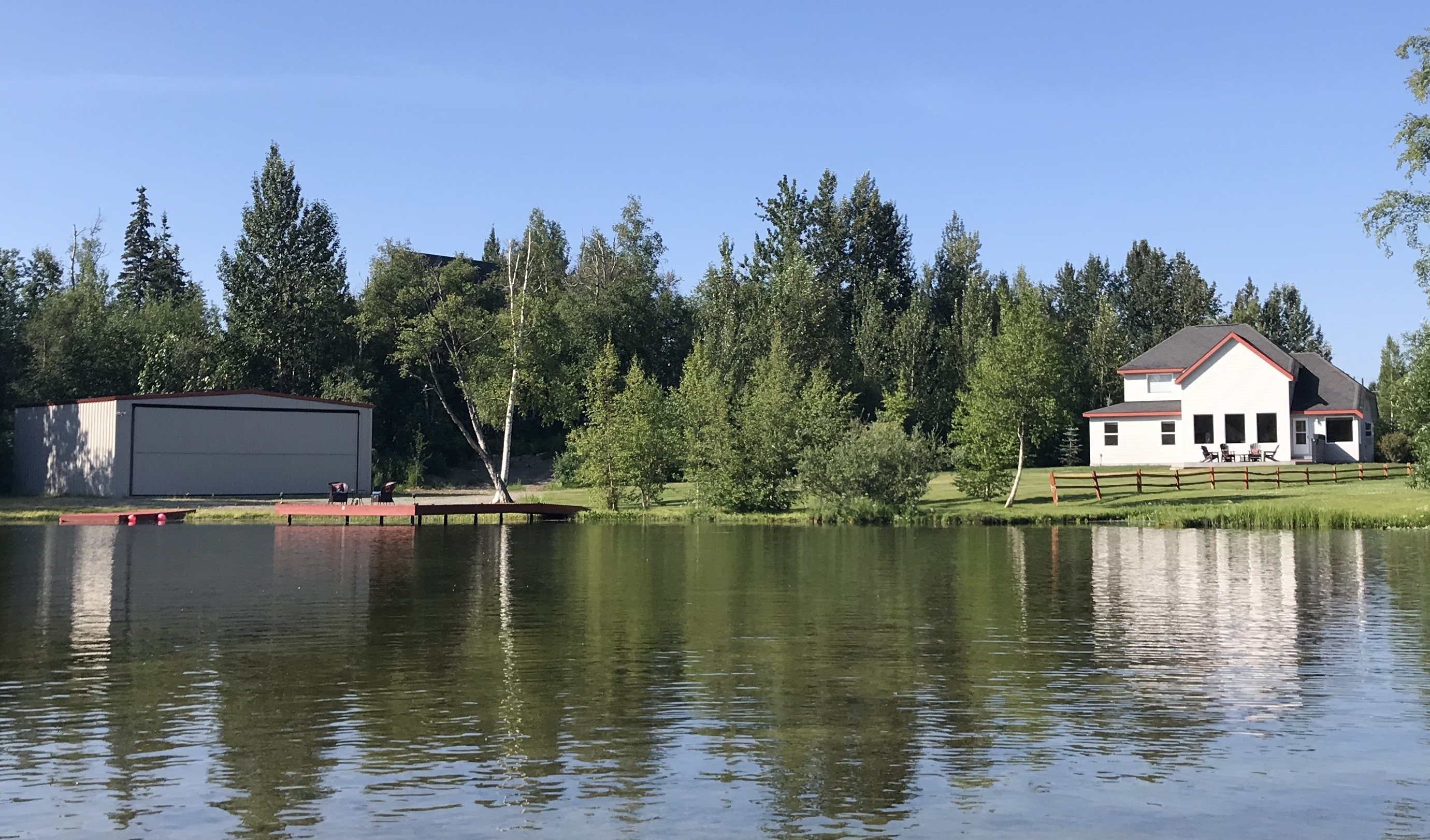 Beautiful Lake Front Home and an Insulated Hangar