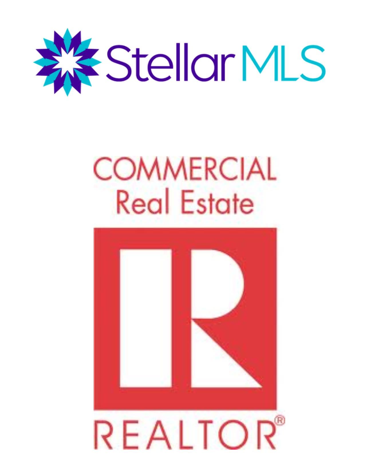Stellar & Commercial REALTOR logos