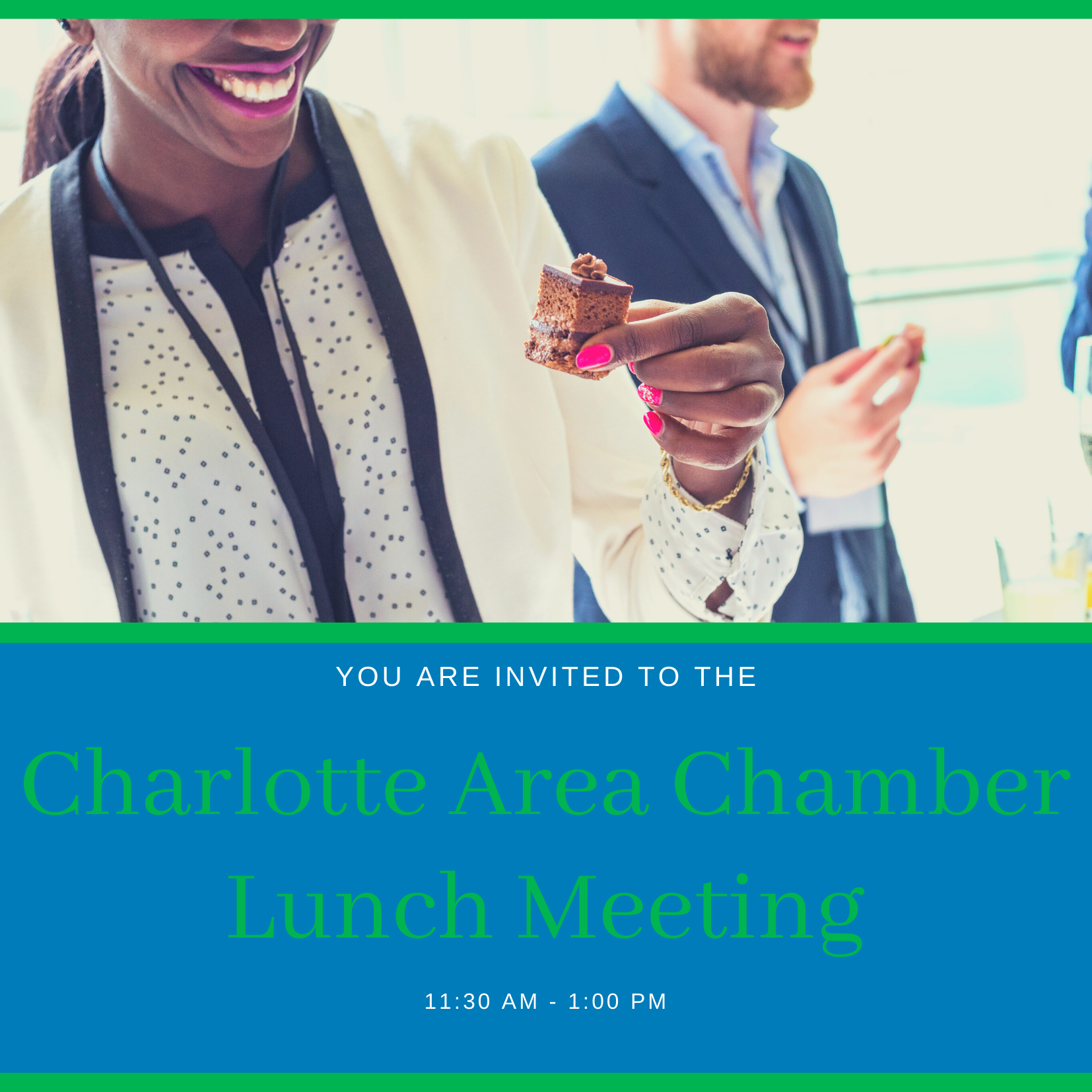 Lunch meeting invitation