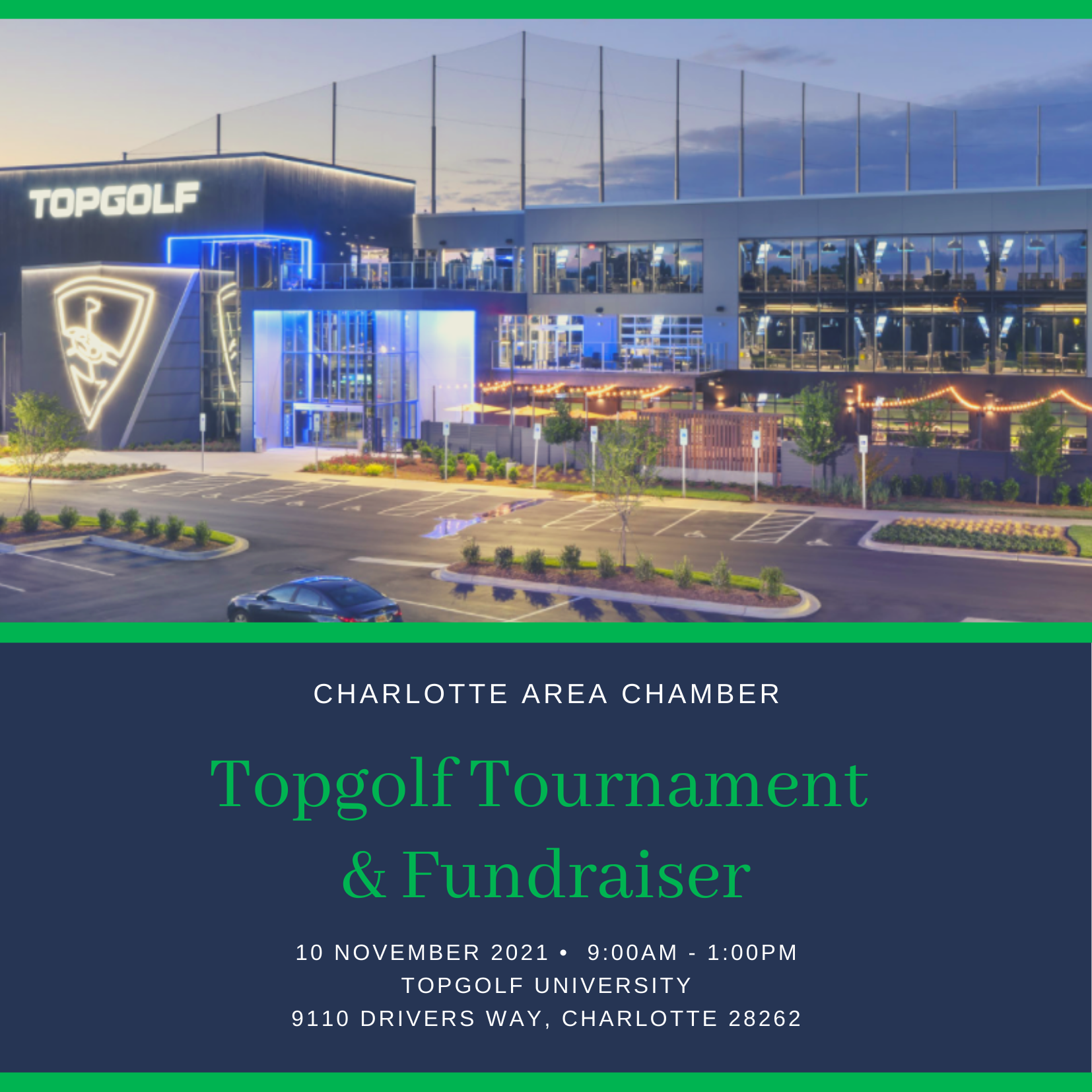 Topgolf Tournament & Fundraiser
