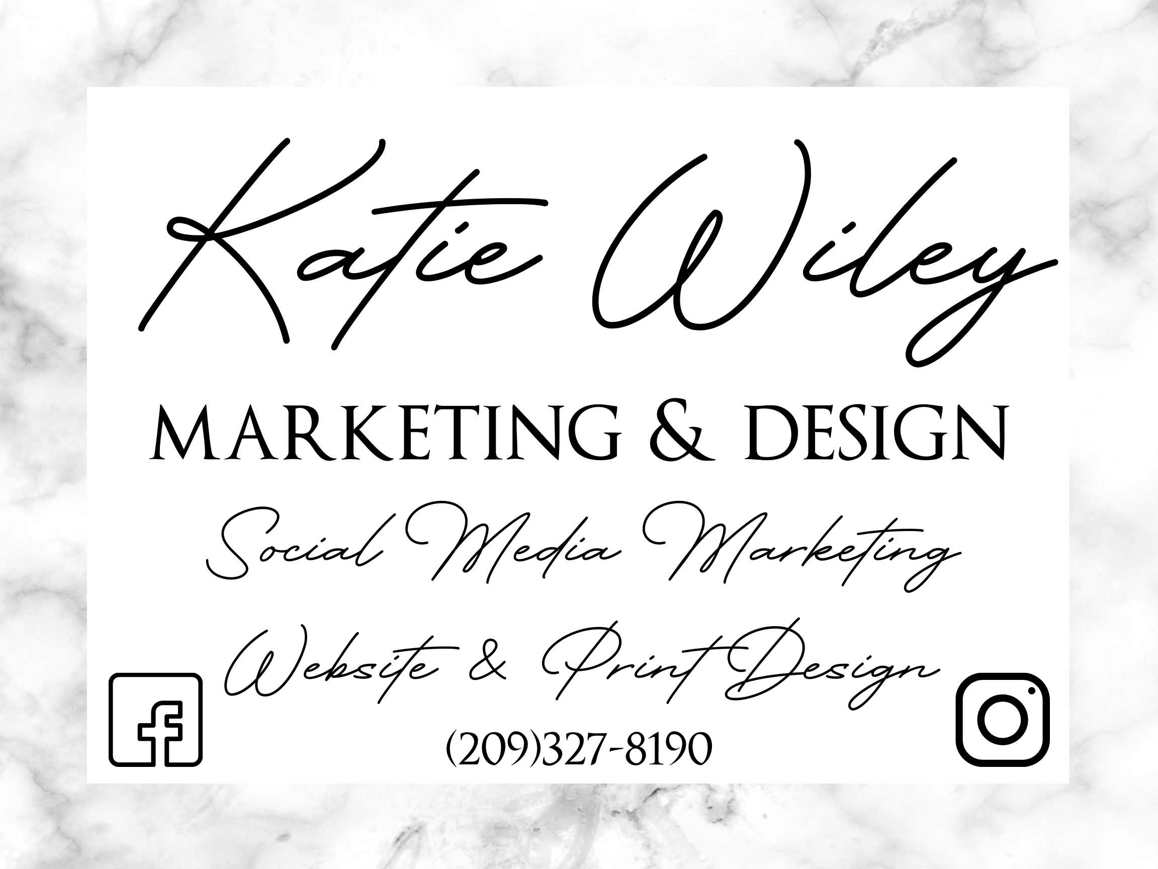 Katie Wiley Marketing & Design logo - August 17, 2021
