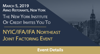 NYIC/IFA/IFA Northeast Joint Factoring Event