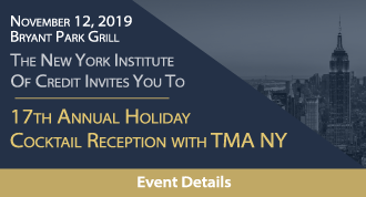 17th Annual Holiday Cocktail Reception with TMA NY Honoring the Bankruptcy Judges