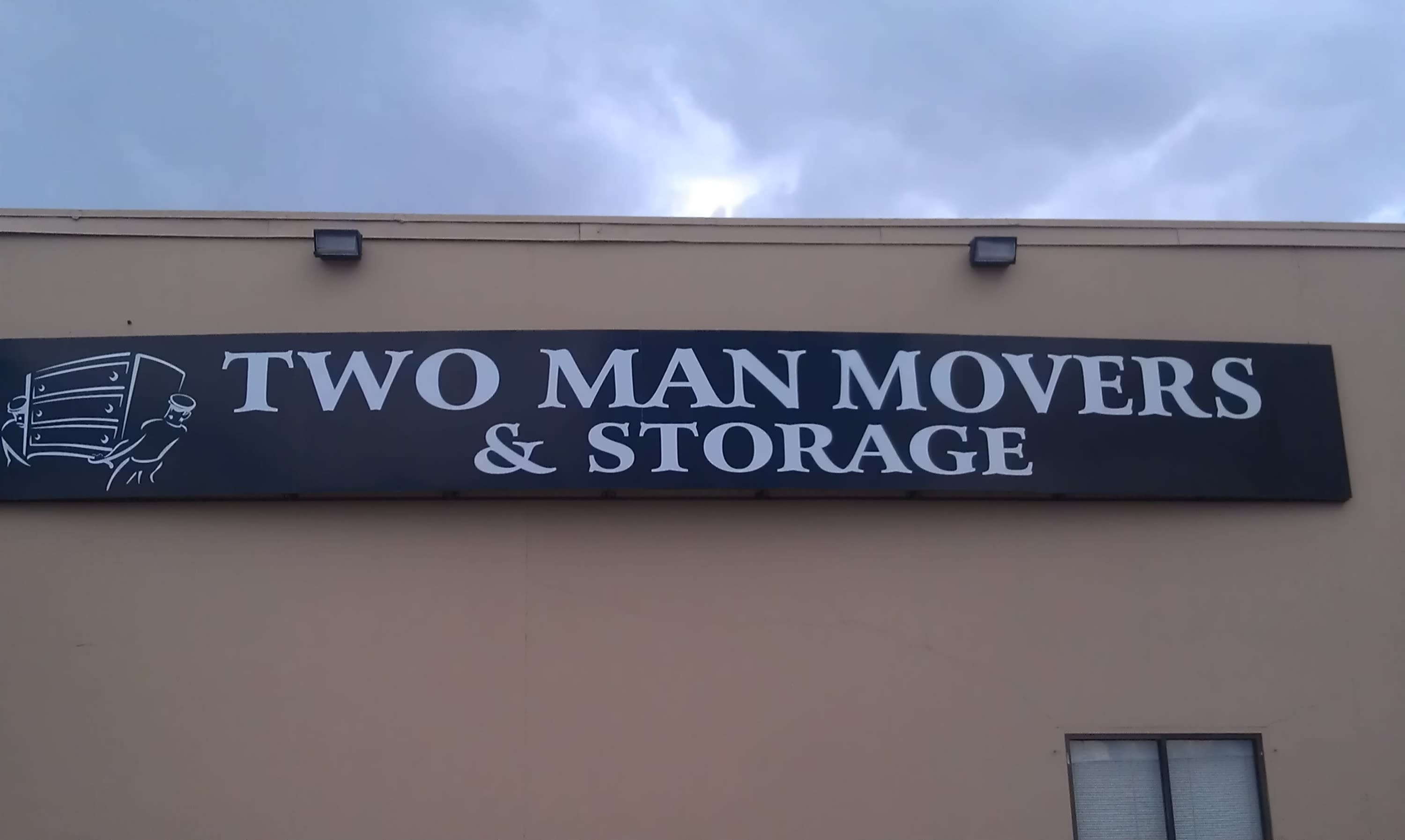 Two Man Movers Sign