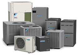 Daikin high efficient AC equipment