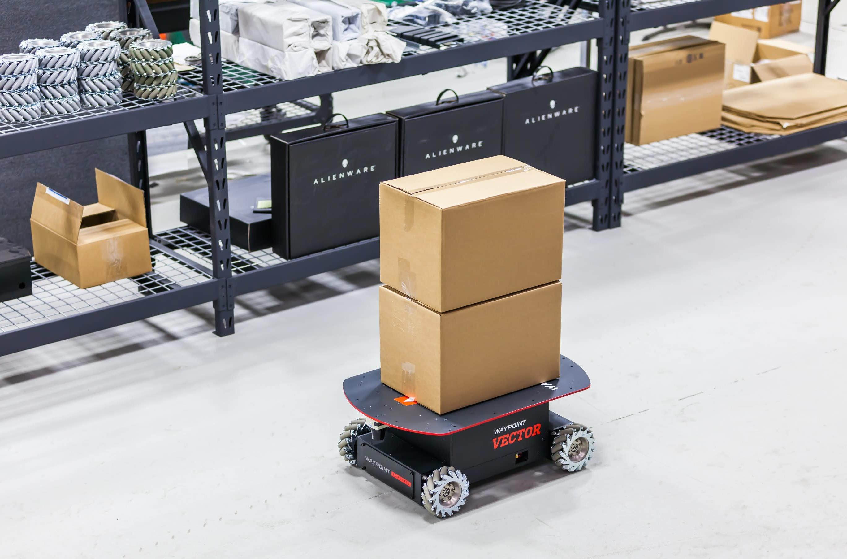 Vector Autonomous Mobile Industrial Robot