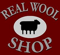 Real wool shop logo