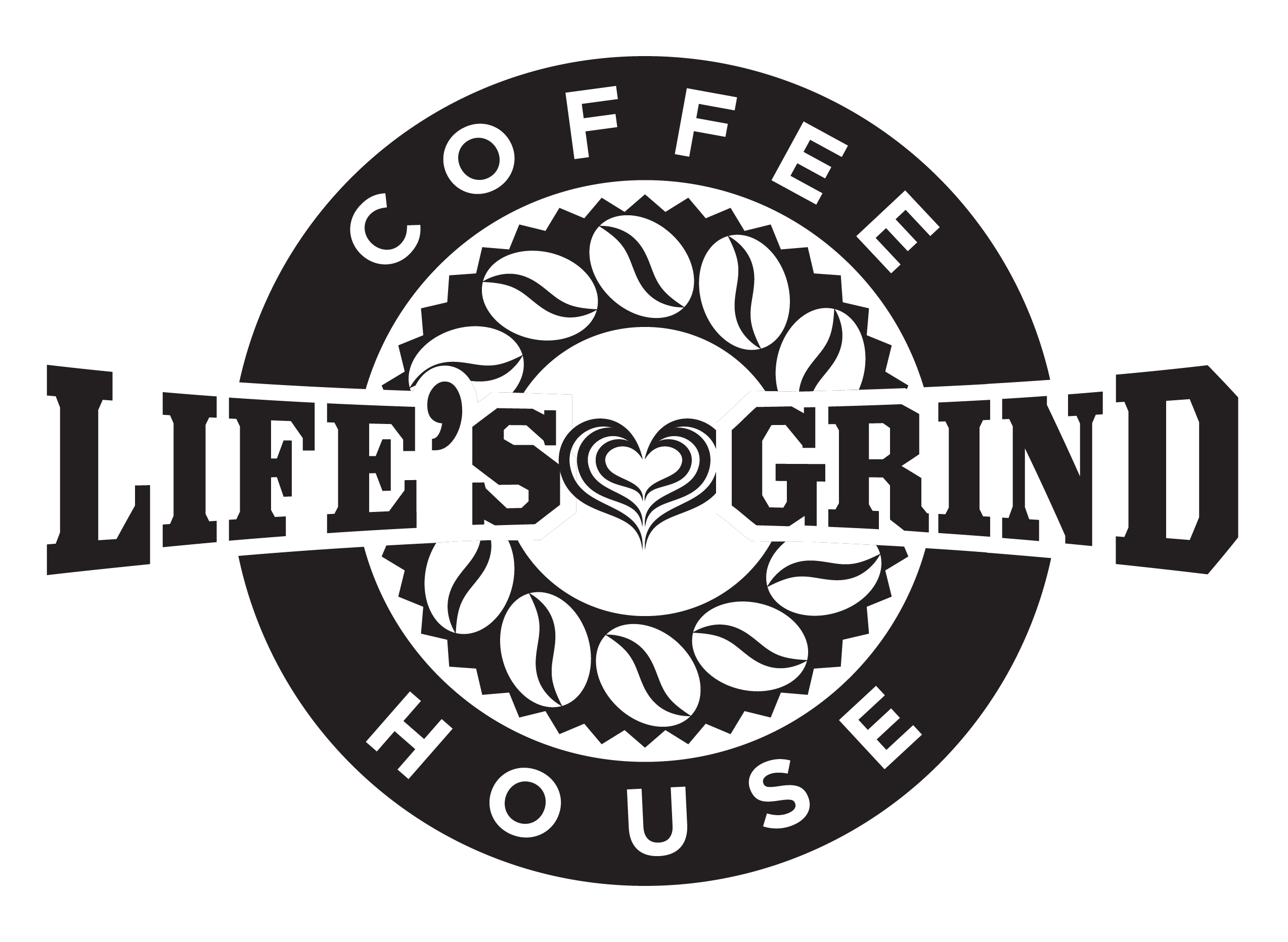 Life's Grind Coffee House logo - June 28 2021