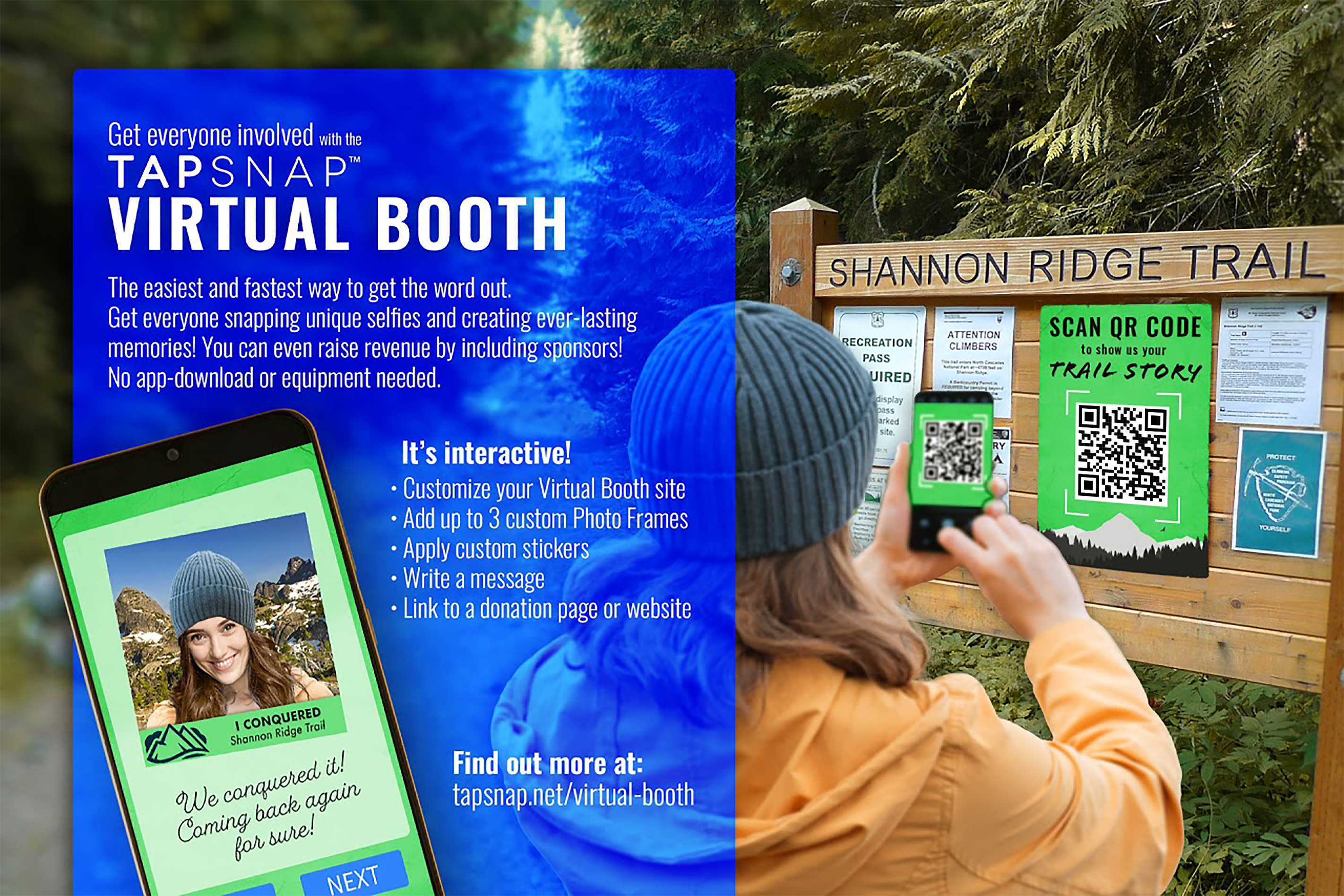 TapSnap™ VIRTUAL BOOTH