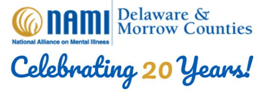 NAMI Delaware and Morrow Counties logo