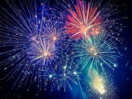 Fireworks Over Lake Arrowhead