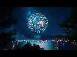 4th of July Fireworks Over Lake Arrowhead