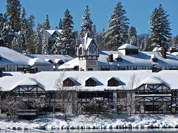 Winter at Lake Arrowhead Village