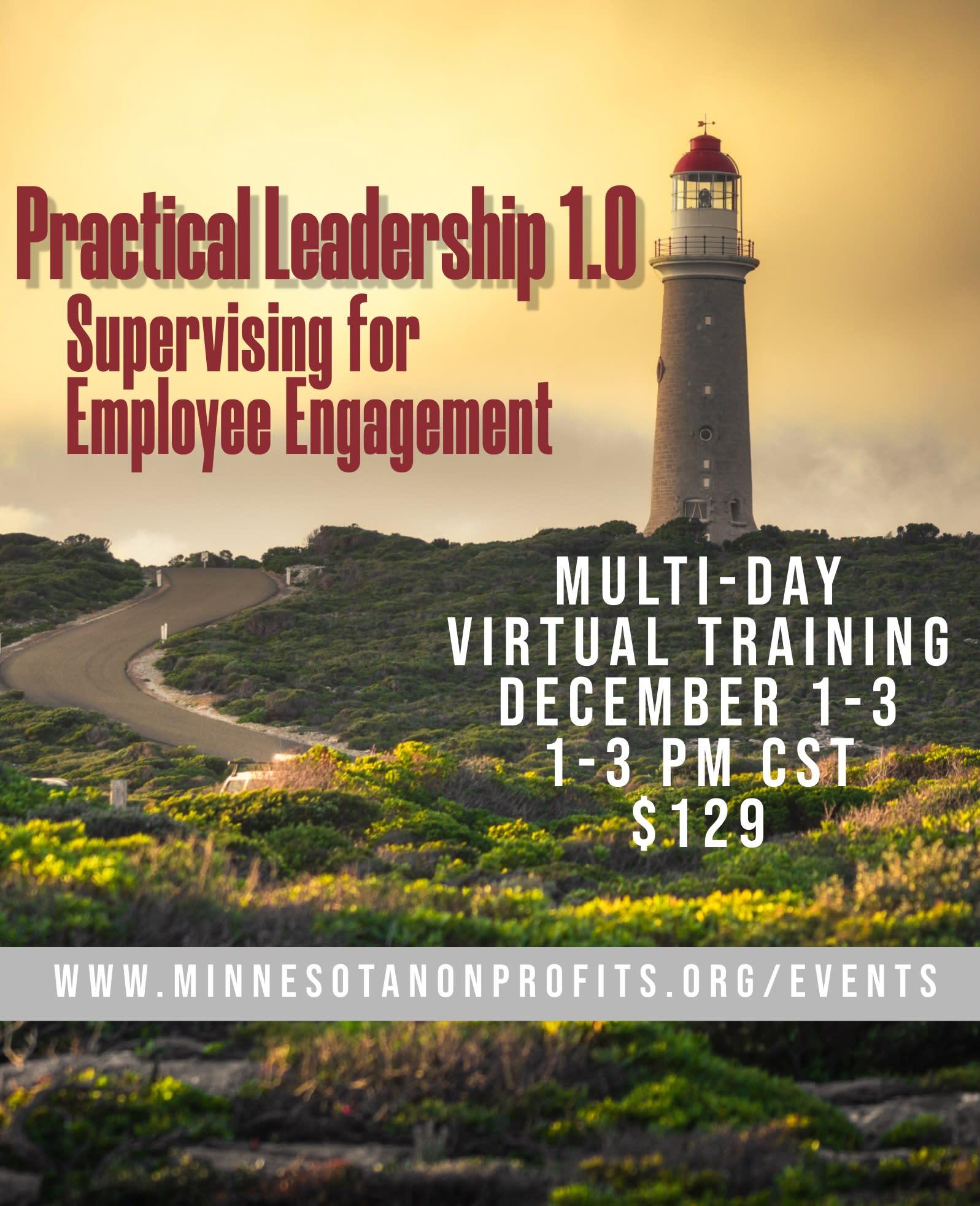 Practical Leadership 1.0 Training Flyer
