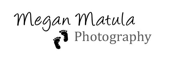 Company Logo, Megan Matula Newborn Photography