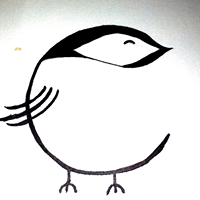 chickadee coffeehouse logo
