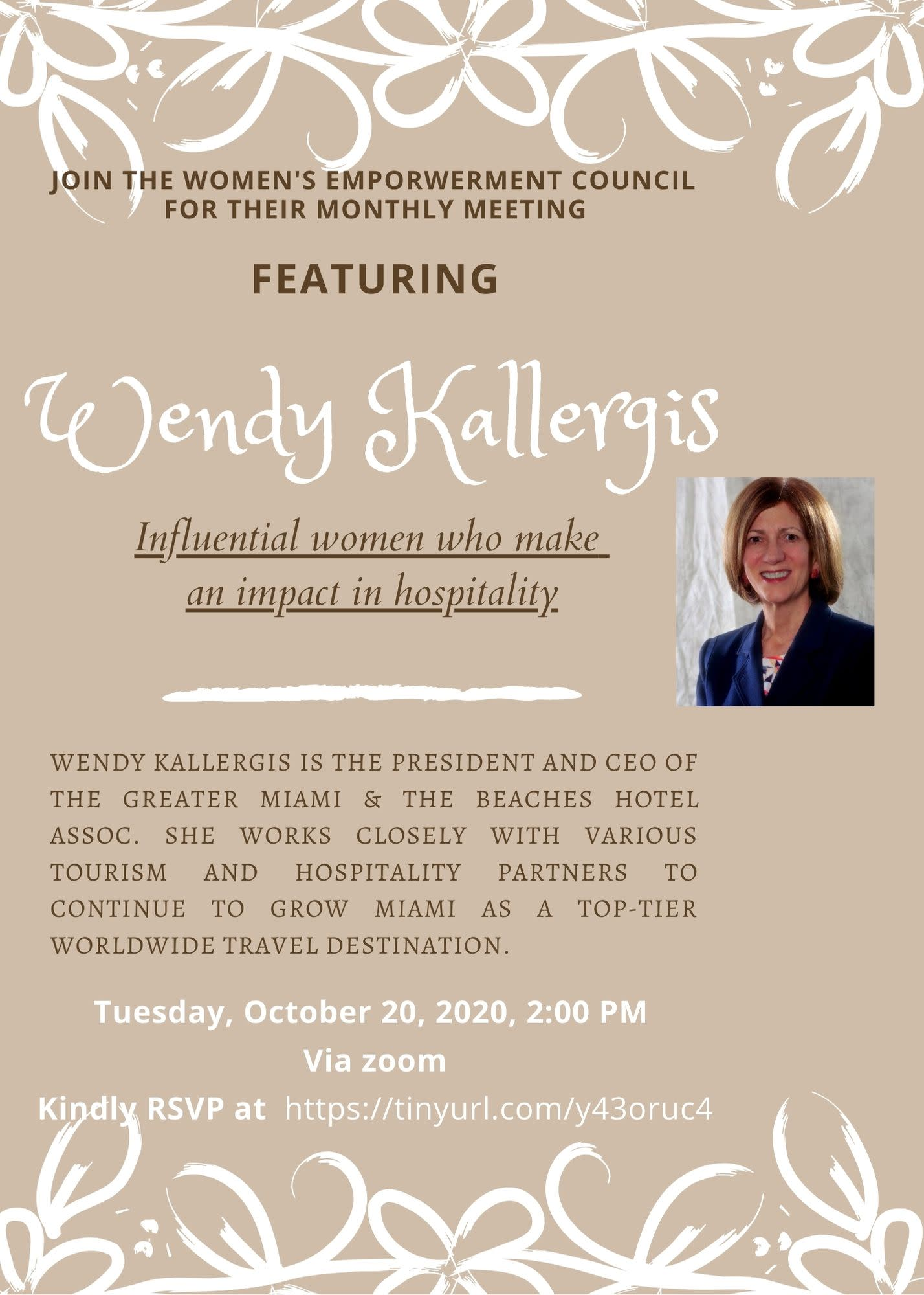 Women's Empowerment Council with Wendy Kallergis