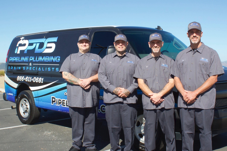 Meet the Pipeline Plumbing Specialists