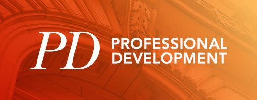 Professional Development: Finding Your Leadership Brand