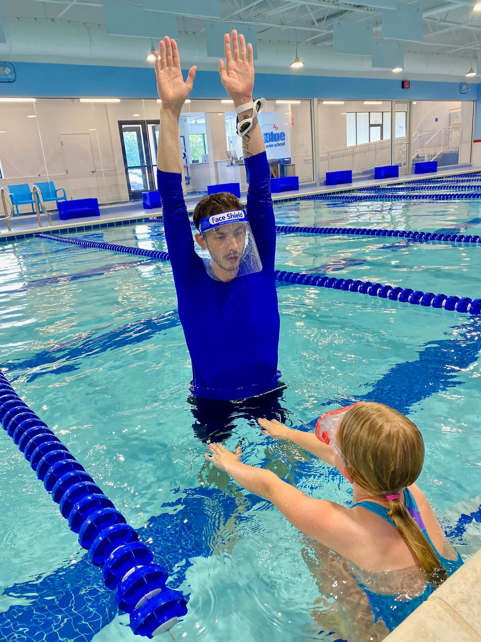 Swim lessons for all levels