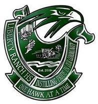 Liberty Ranch High School logo - August 2021