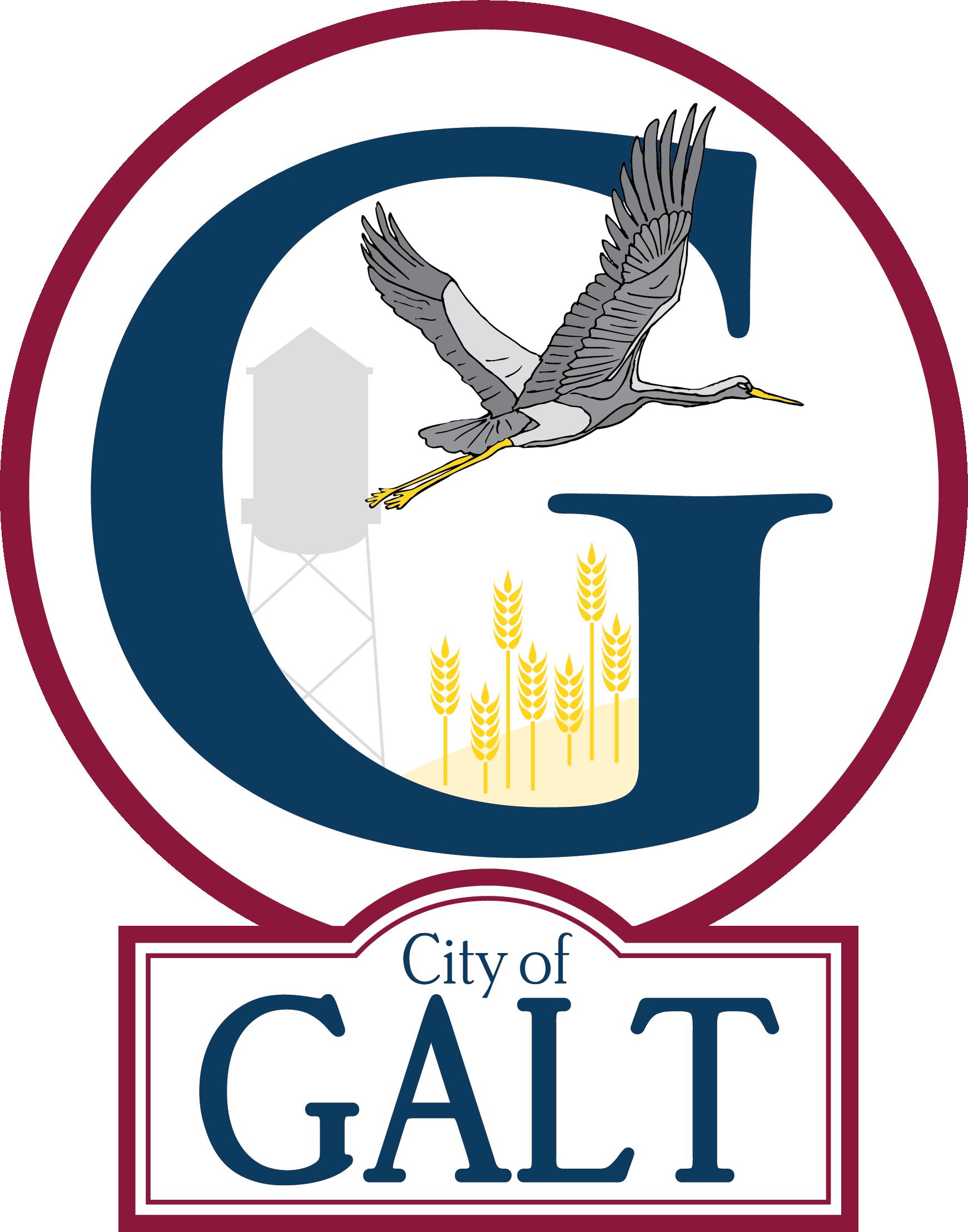 City of Galt logo - August 2021