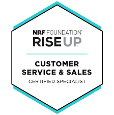 Customer Service & Sales Badge