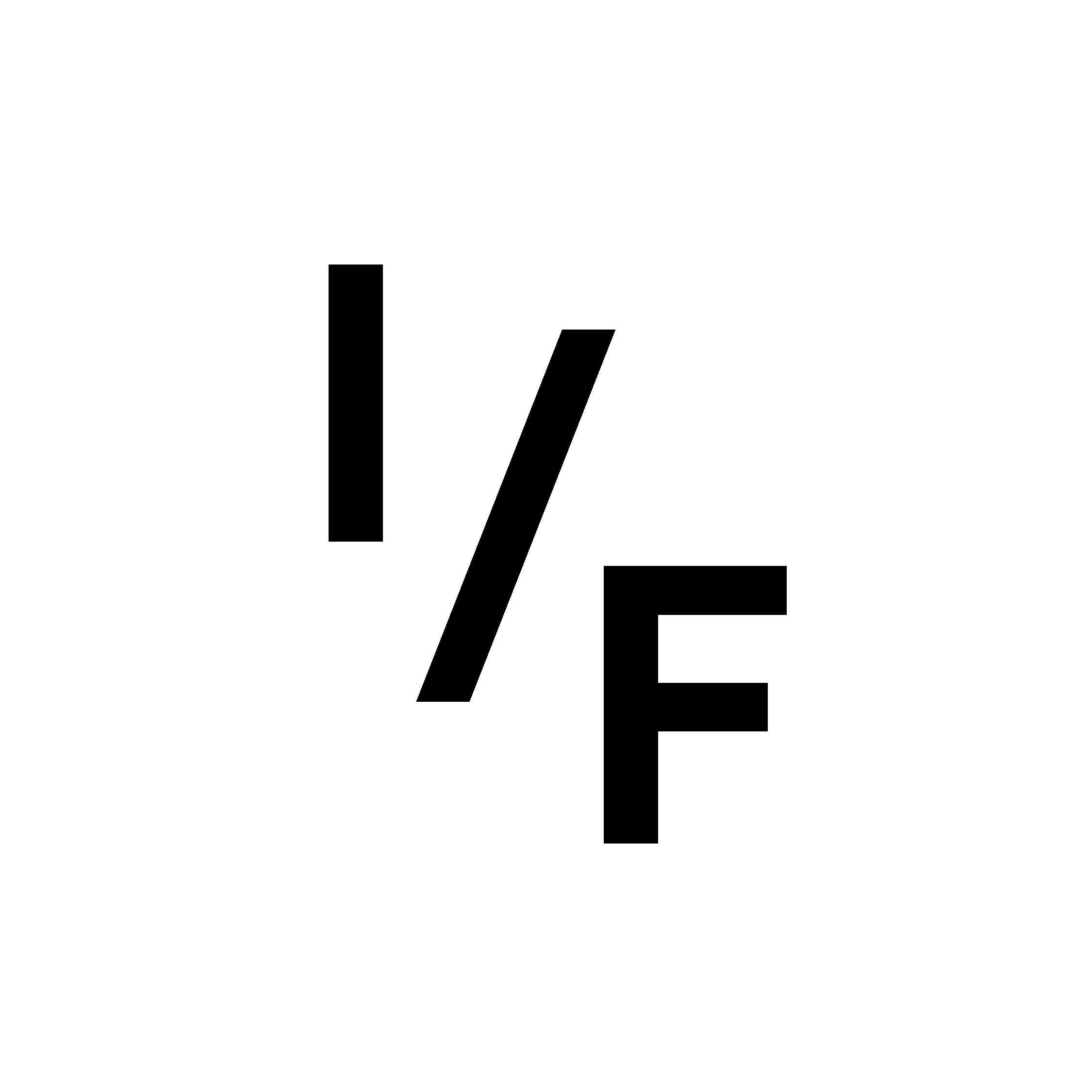 I/F logo