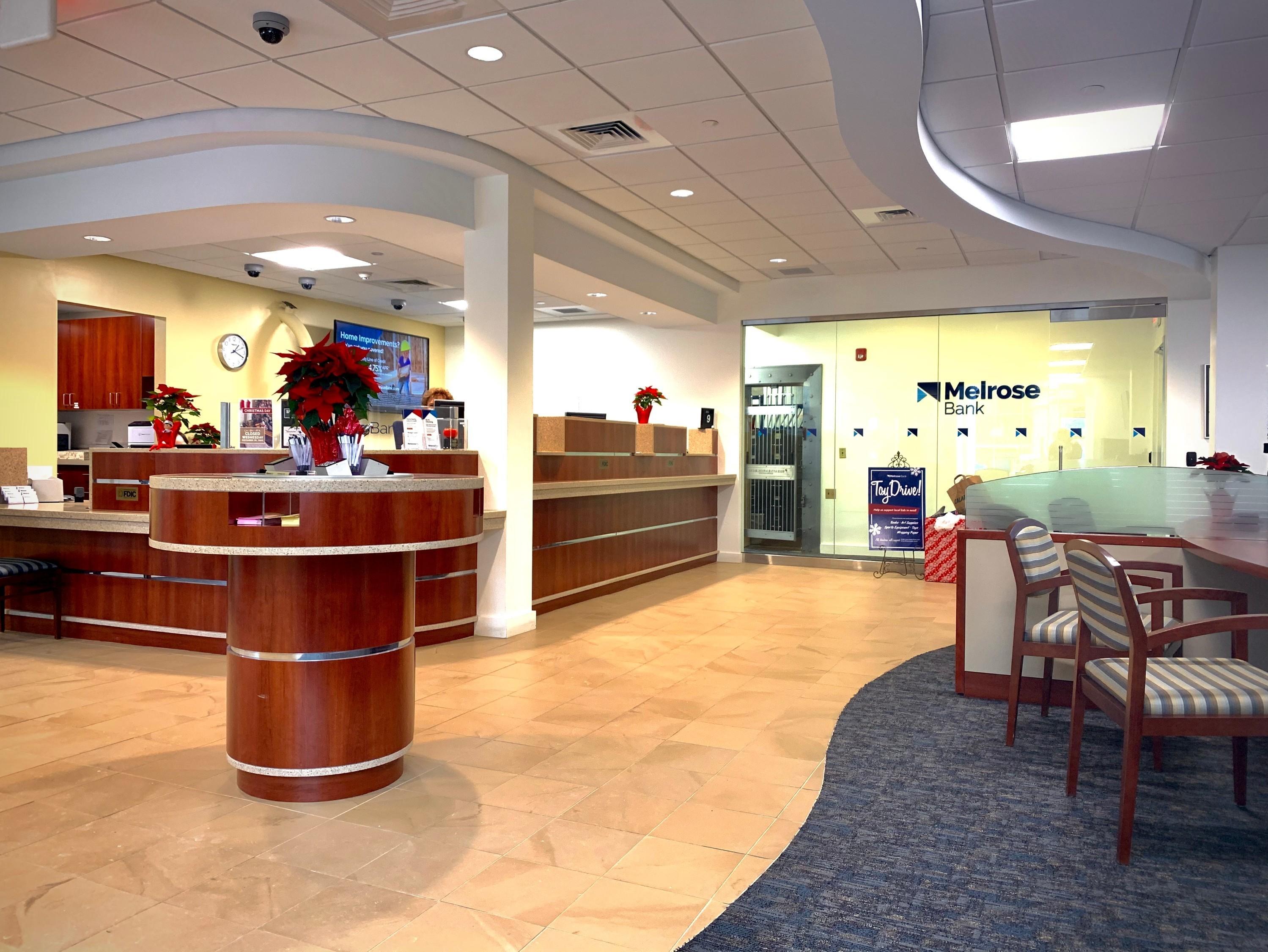 Melrose Bank inside